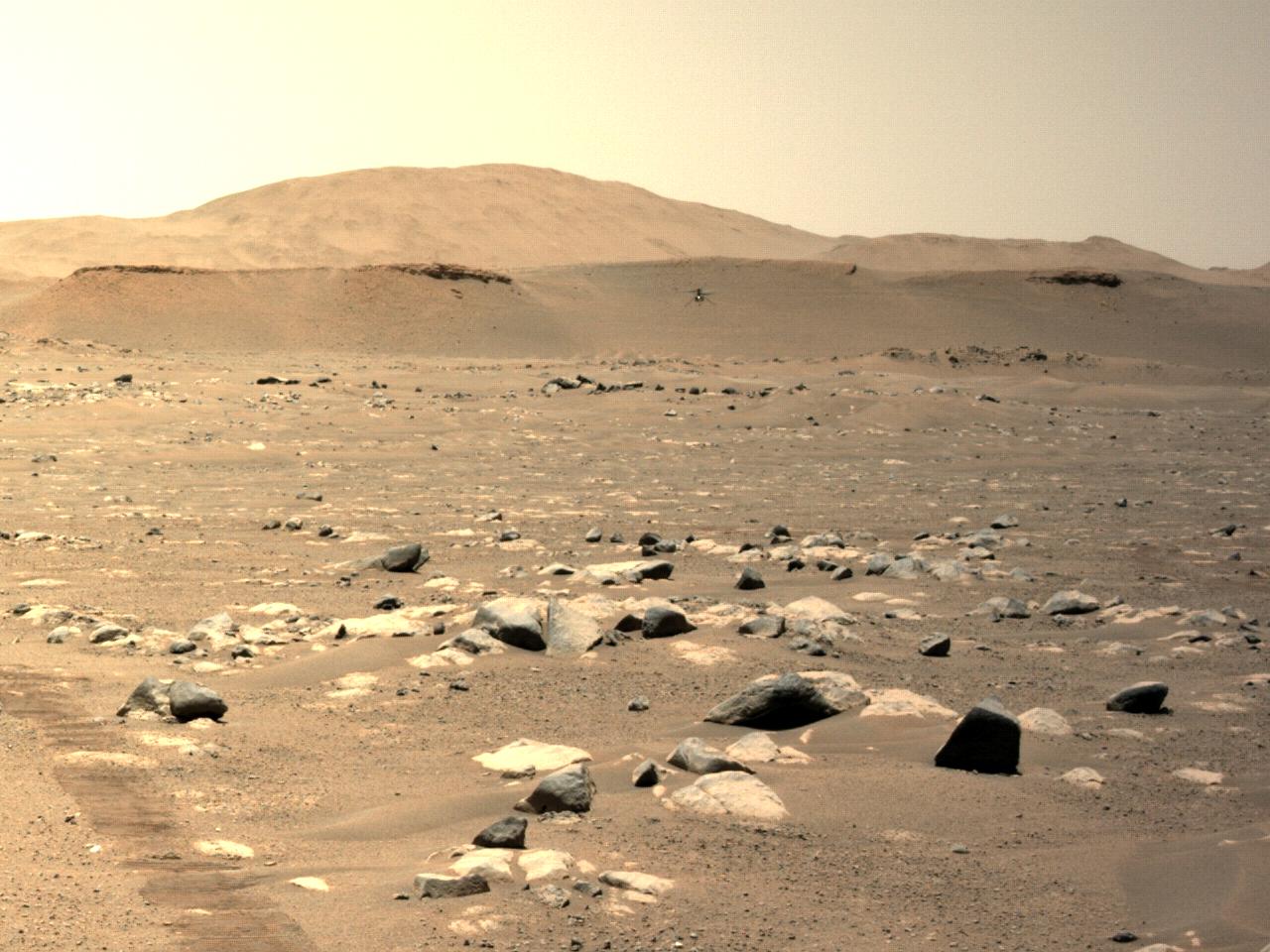 El helicóptero Ingenuity Mars de la NASA sigue alcanzando hitos en su tercer vuelo