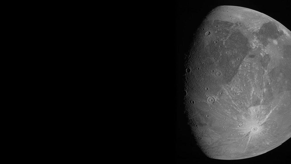 JunoCam Ganymed - angepasst