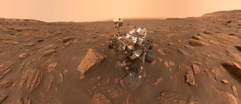 Curiosity's Dusty Selfie - cropped