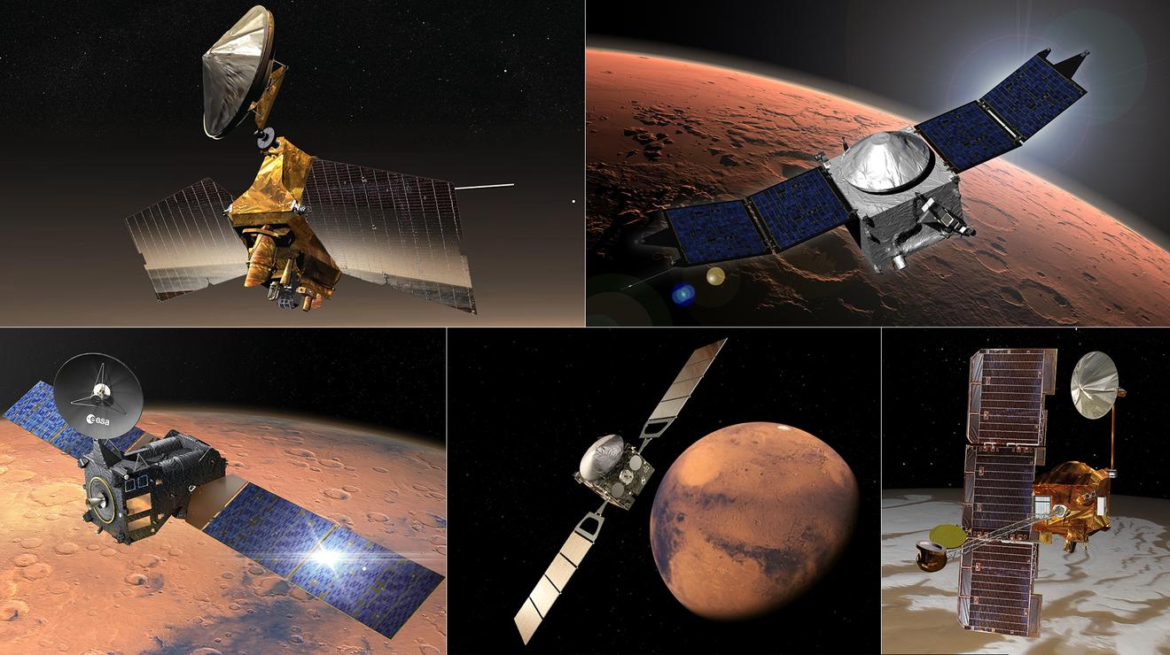La red de comunicaciones de la NASA nos conecta con los exploradores marcianos