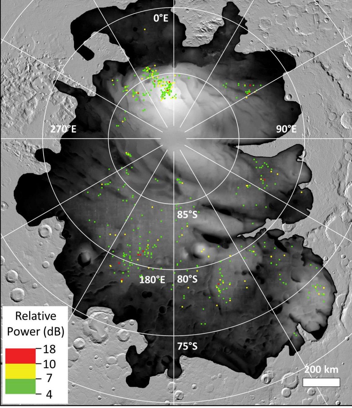 Un estudio analiza más de cerca las señales de agua subterránea de Marte