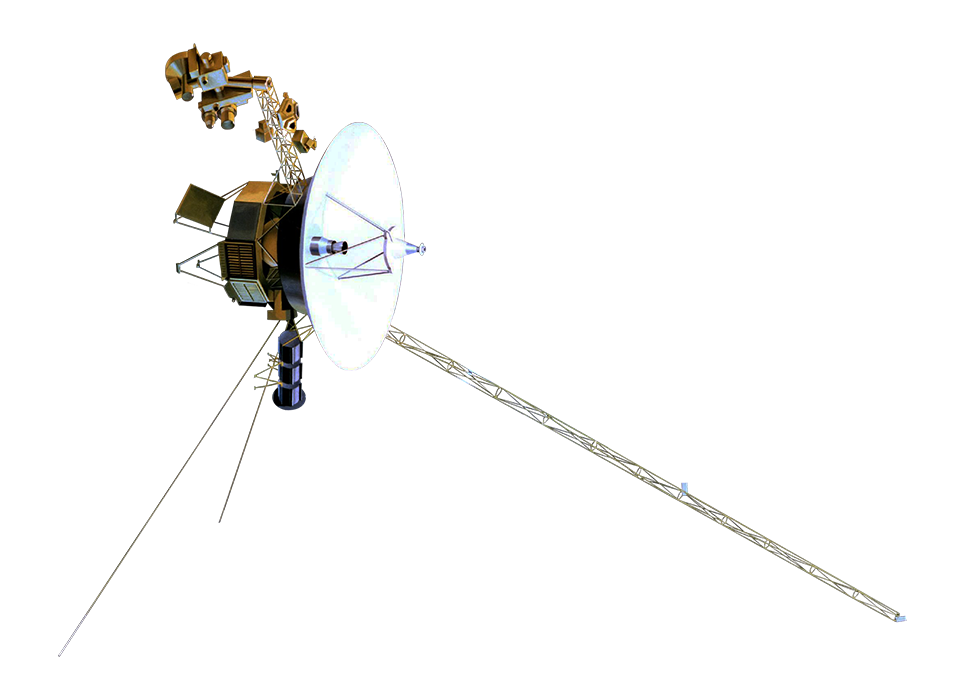 Voyager 1 Foreground