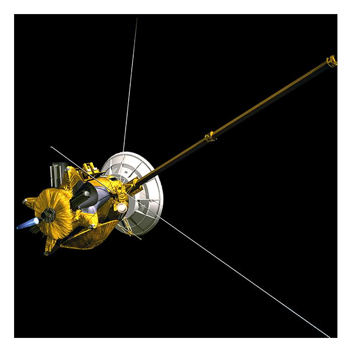 Cassini Foreground