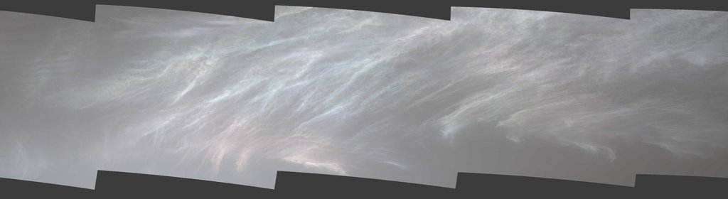 Curiosity Spots Iridescent (Mother of Pearl) Clouds