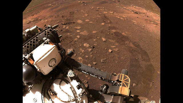 R1-Perseverance Is Roving on Mars
