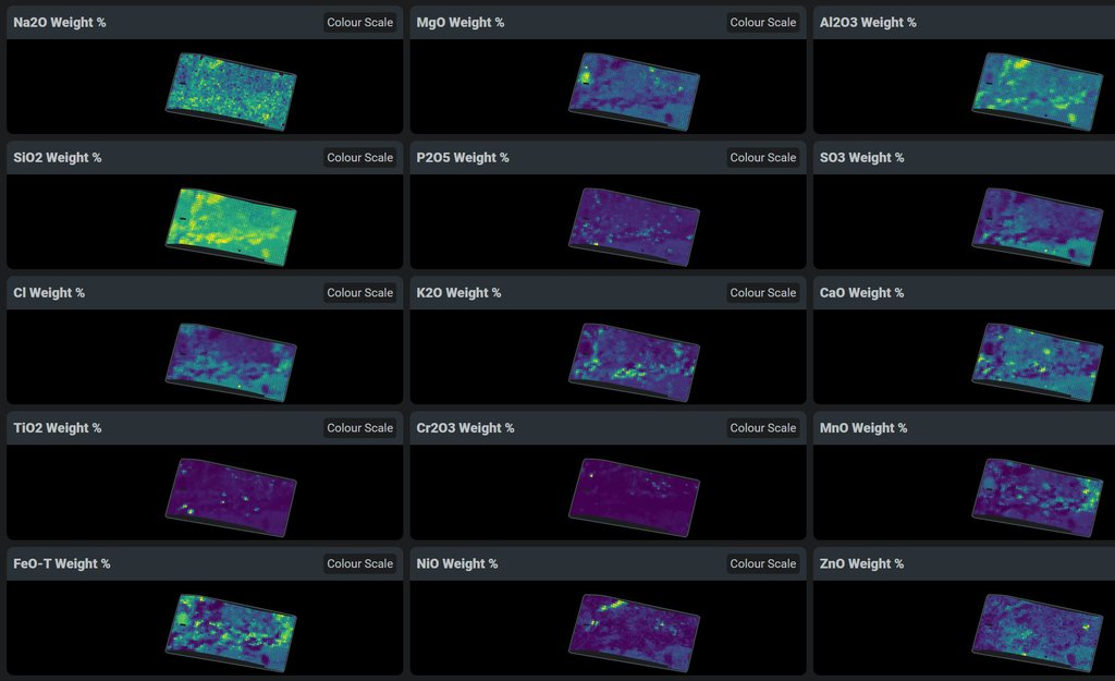 PIXL's First Chemical Maps