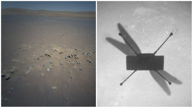 Ingenuity Images of Flight 10