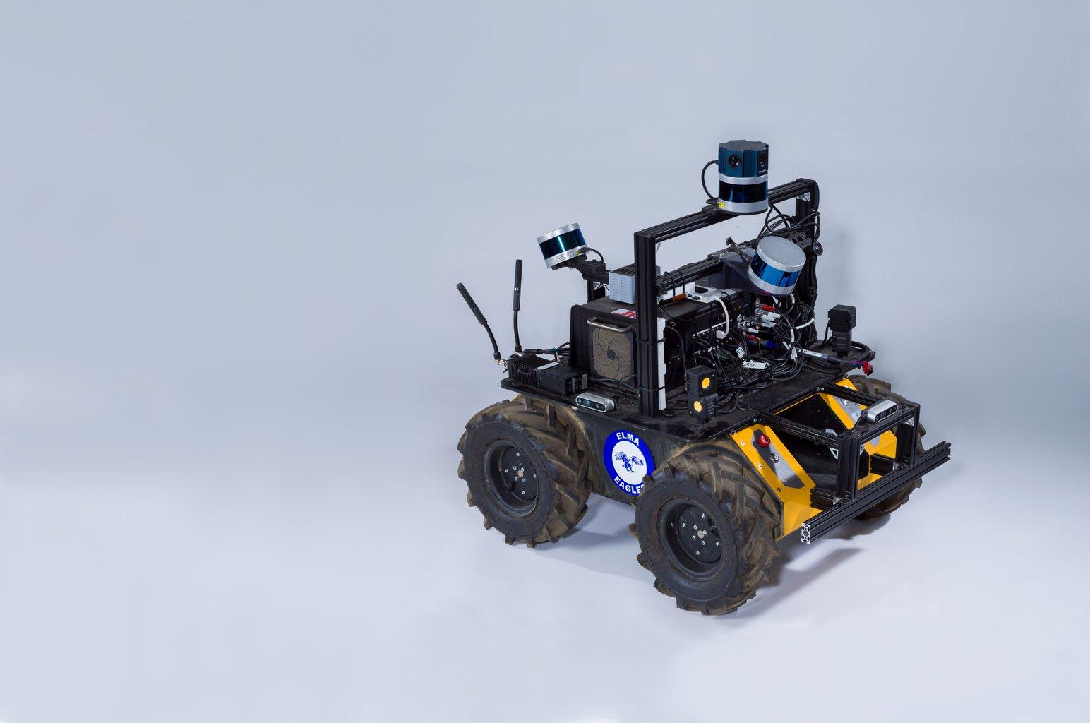 Husky robot