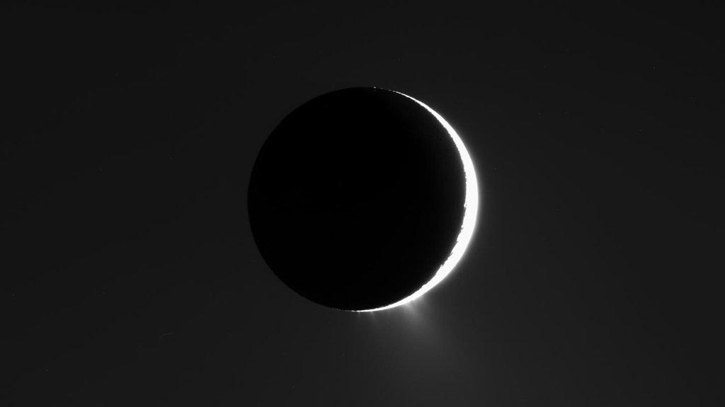 NASA Space Enceladus Moon  9048
