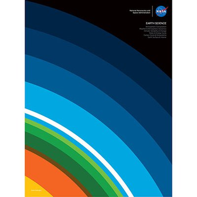 JPL Earth Day Poster - Layers