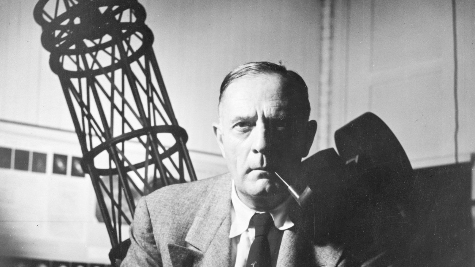 Edwin Hubble. Credit: Image courtesy of the Observatories of the Carnegie Institution for Science Collection at the Huntington Library