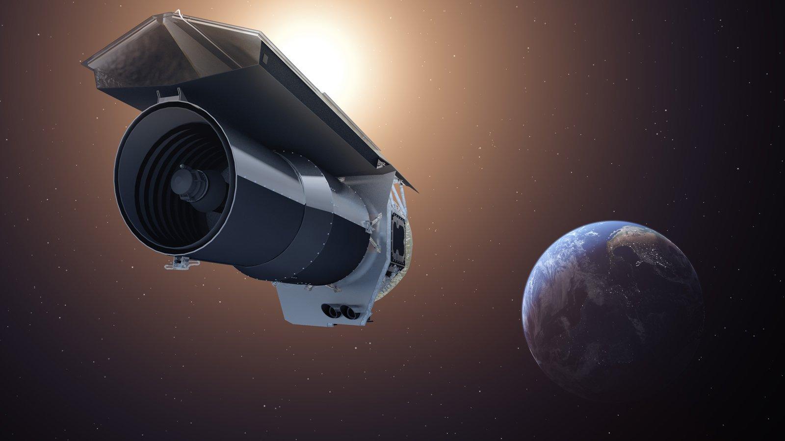 NASA's Spitzer Space Telescope. Credit: NASA/JPL-Caltech