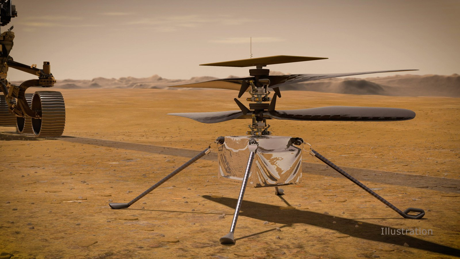 Mars Helicopter Ingenuity GIF