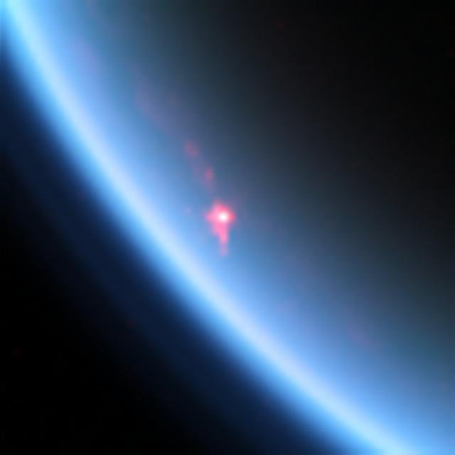 The view was obtained during NASA's Cassini orbiter's flyby on July 24, 2012, also called the 'T85' flyby by the Cassini team. This was the most intense specular reflection that Cassini had seen to date.