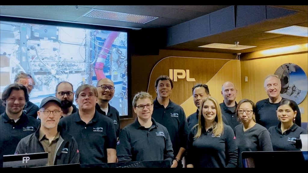 In January 2020, members of the Cold Atom Lab operations team assisted remotely in a hardware upgrade to Cold Atom Lab while the facility was still aboard the International Space Station.