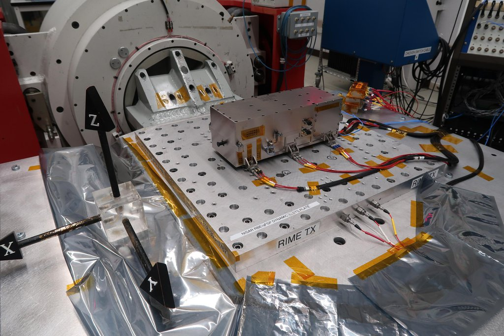 NASA's Jet Propulsion Laboratory built and shipped the receiver, transmitter, and electronics necessary to complete the radar instrument for the Jupiter Icy Moons Explorer (JUICE) mission.