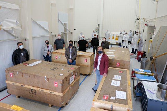 NISAR Unload Group