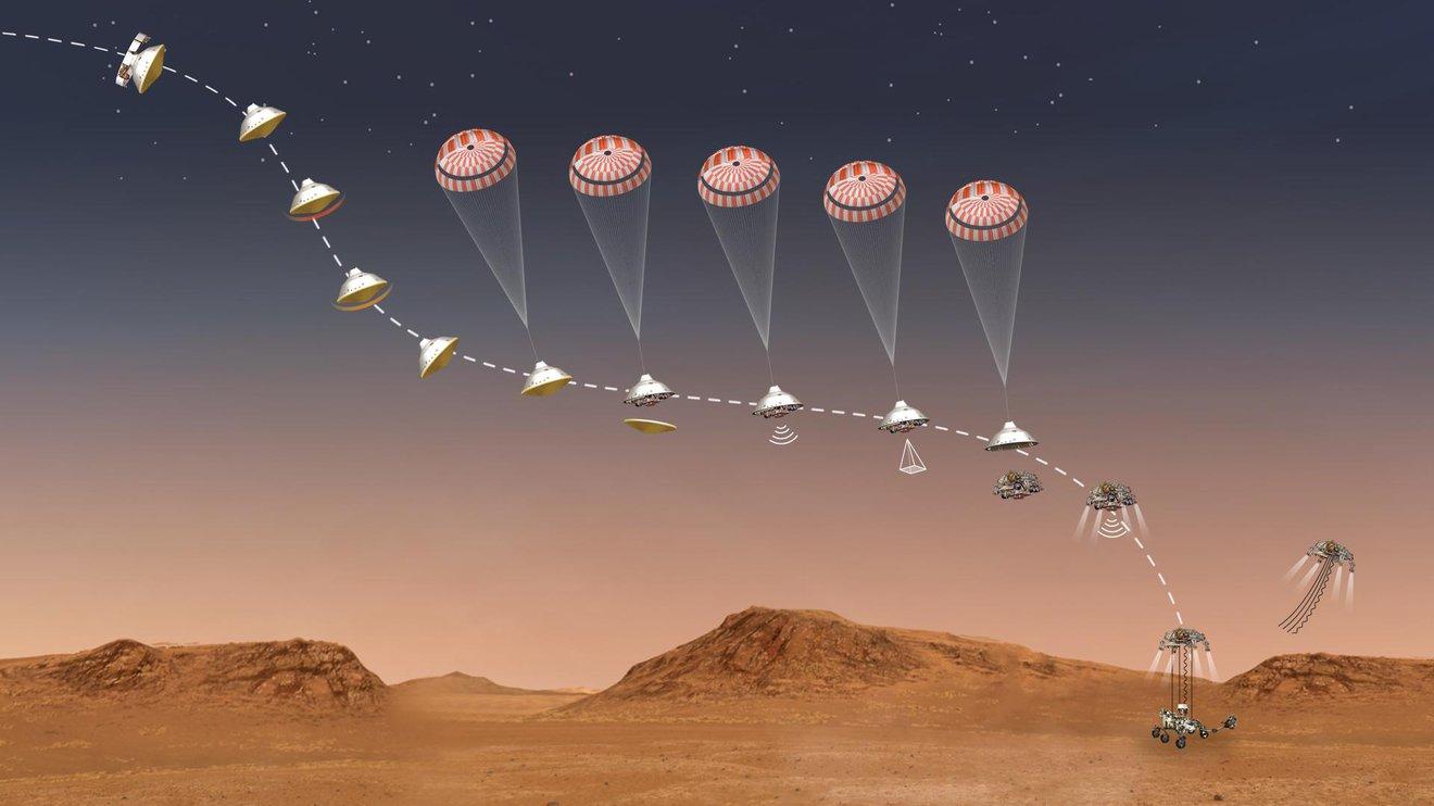 El Rover Perseverance de la NASA a 21 días del aterrizaje en Marte