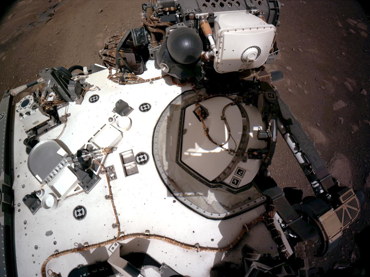 """La NASA proporcionará información actualizada sobre las """"primicias"""" de Perseverance desde su aterrizaje en Marte."""