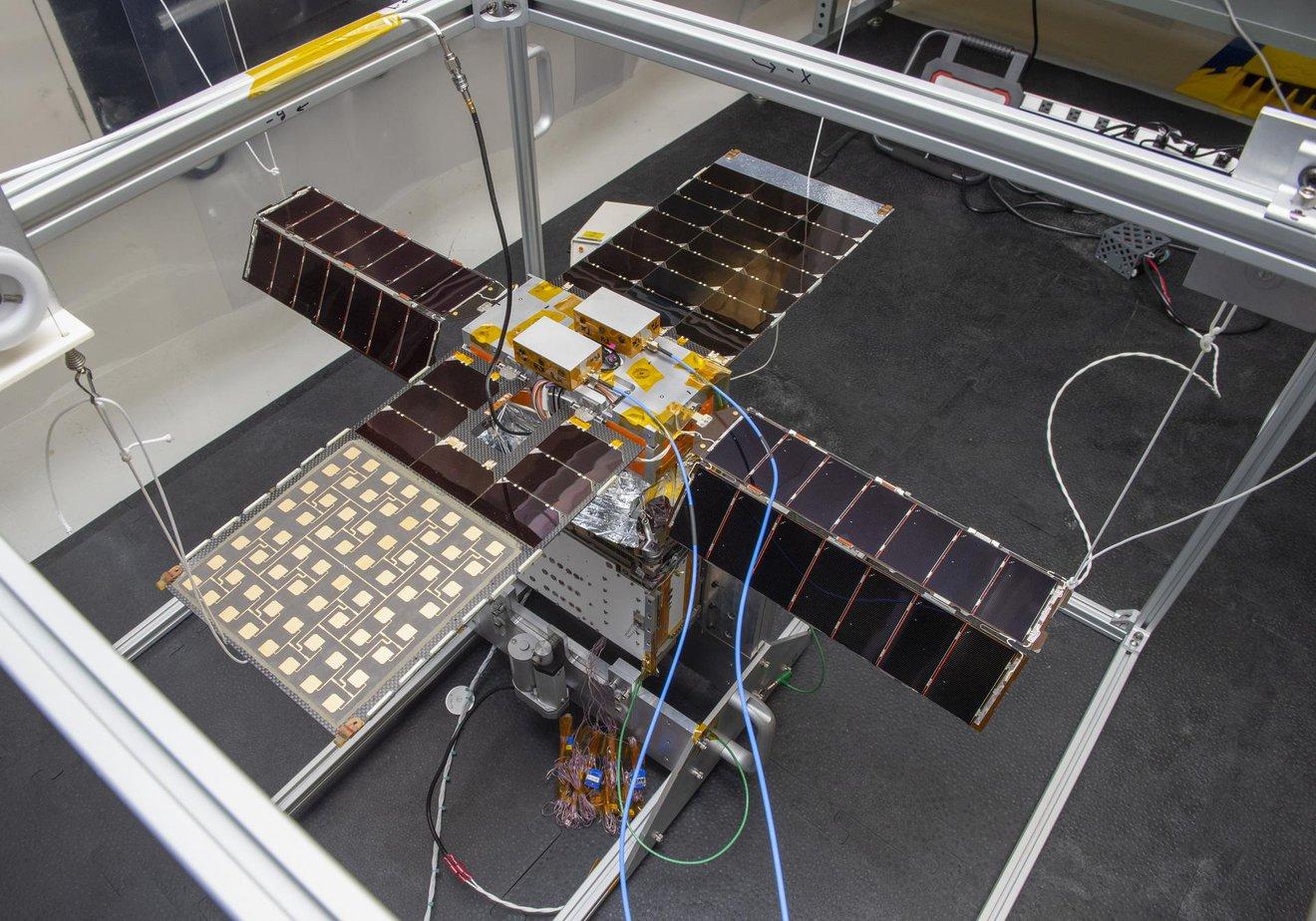 La misión Solar Sail Asteroid de la NASA se prepara para su lanzamiento en Artemis I