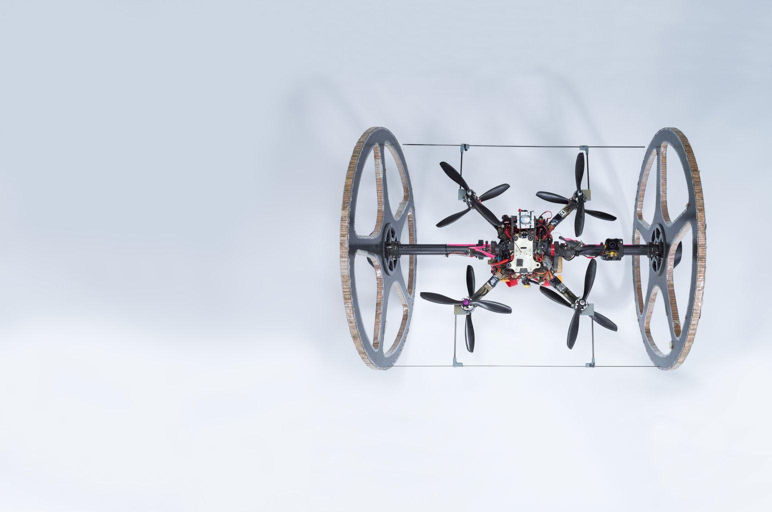 Subterranean Rollocopter Robot