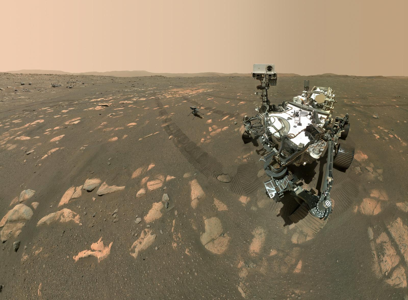 "MARS 2020 HELICOPTER 3.5"" Program Mission PATCH NASA JPL"