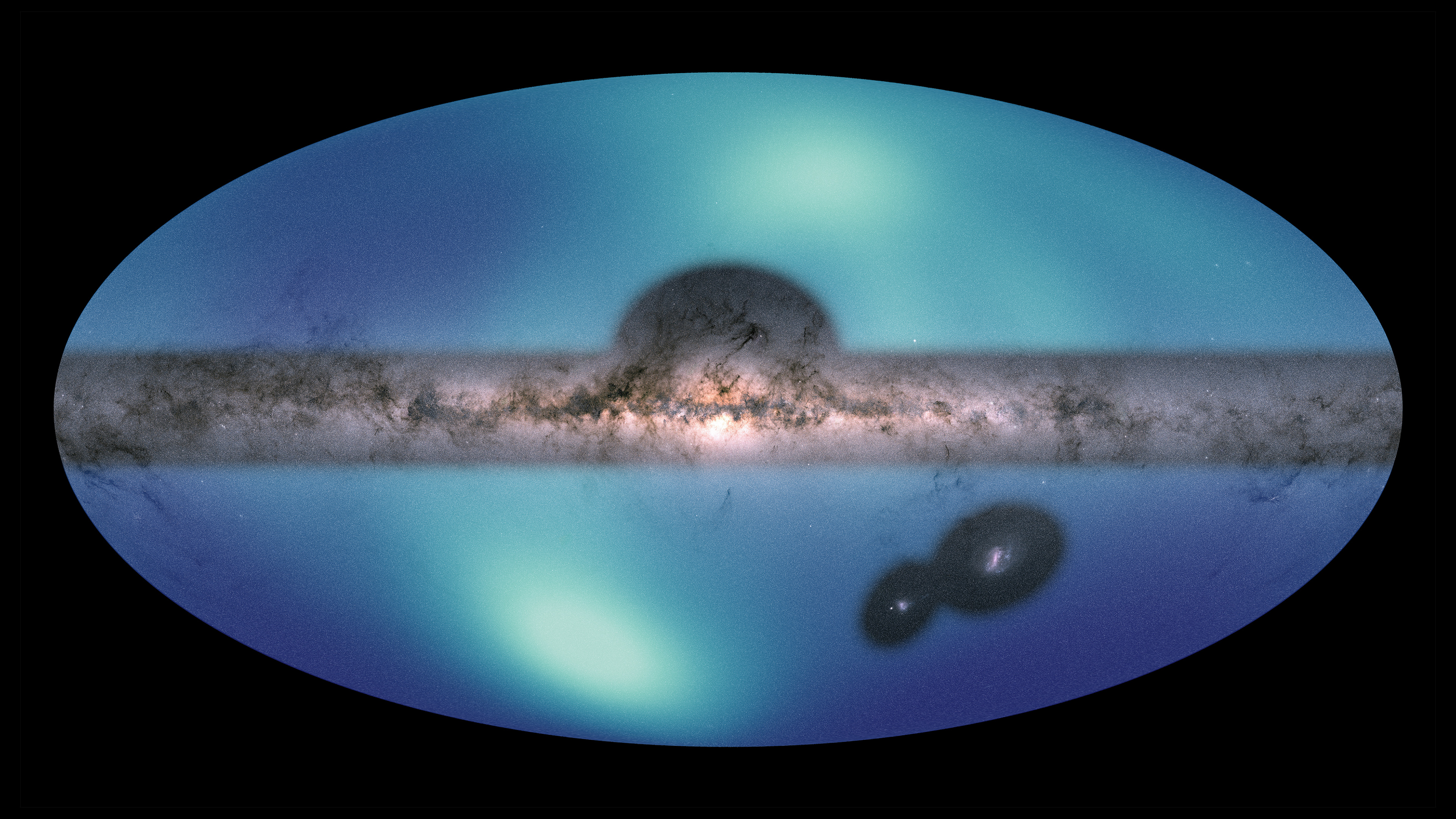 News . Astronomers Release New All-Sky Map of Milky Way's Outer Reaches - Jet Propulsion Laboratory