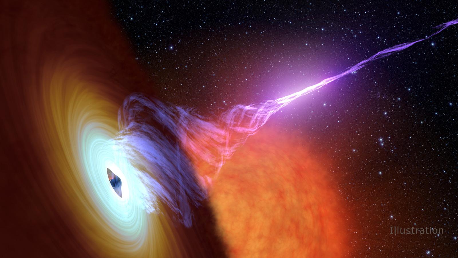 Black Hole  Astronomy Physics Astrophysics NASA HD POSTER